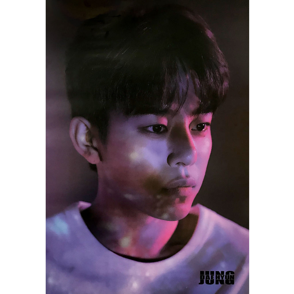 JUNG DAE HYUN | 1ST SINGLE ALBUM [AIGHT]  POSTER ONLY