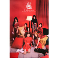 로켓펀치 | ROCKET PUNCH | 2ND MINI ALBUM [RED PUNCH] | (VERSION B) POSTER ONLY