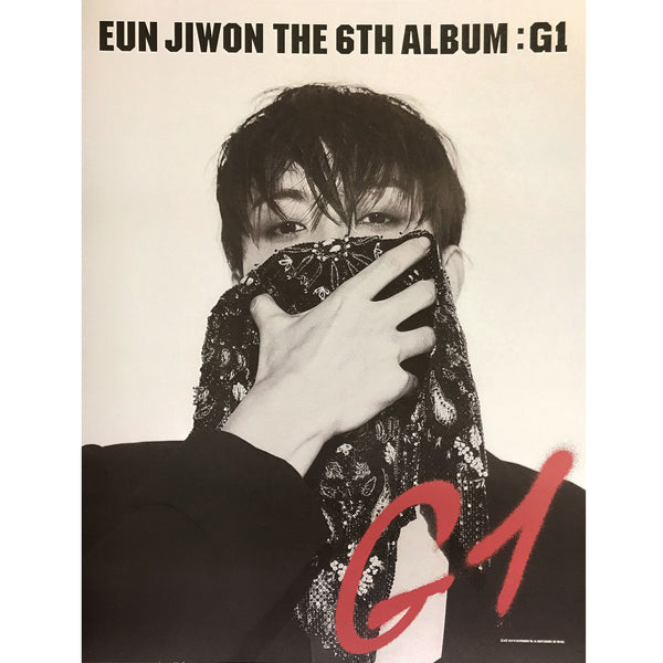 은지원 | EUN JIWON | THE 6TH ALBUM : G1 | POSTER ONLY