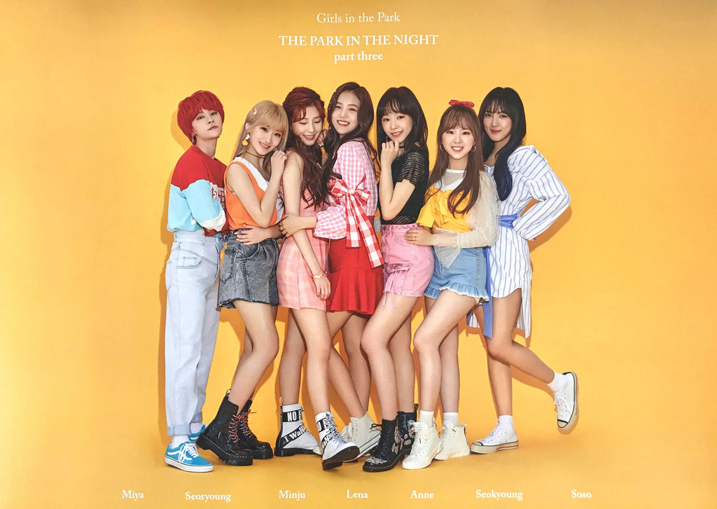 공원소녀 | GWSN | THE PARK IN THE NIGHT | PART THREE | (VERSION 1) POSTER ONLY