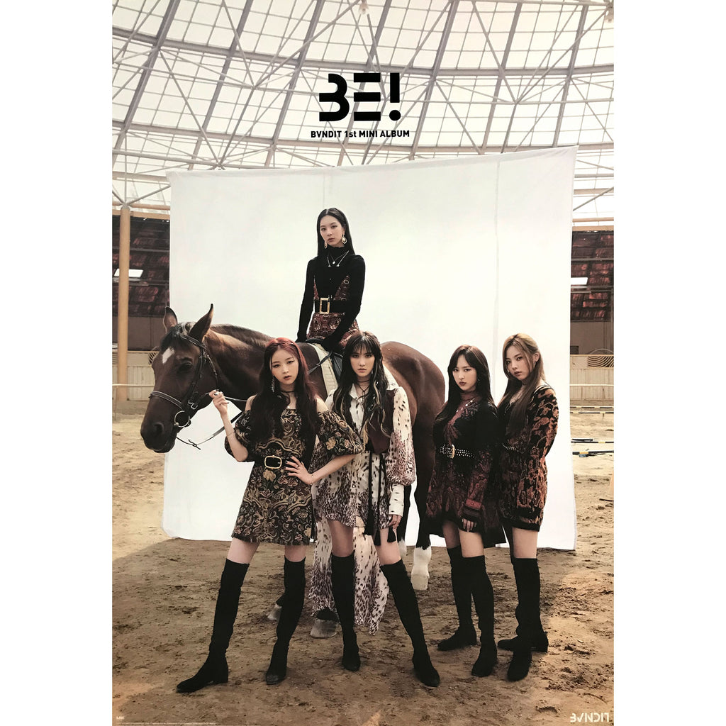 밴디트 | BVNDIT | 1ST MINI ALBUM [BE!] POSTER ONLY