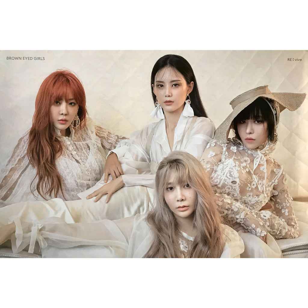브라운 아이드 걸스 | BROWN EYED GIRLS | [RE-VIVE] POSTER ONLY