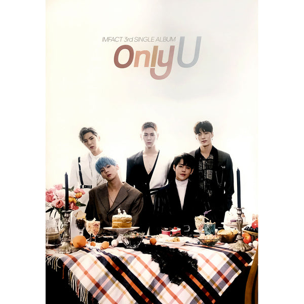 IMFACT | 3rd Single Album | ONLY U | POSTER ONLY