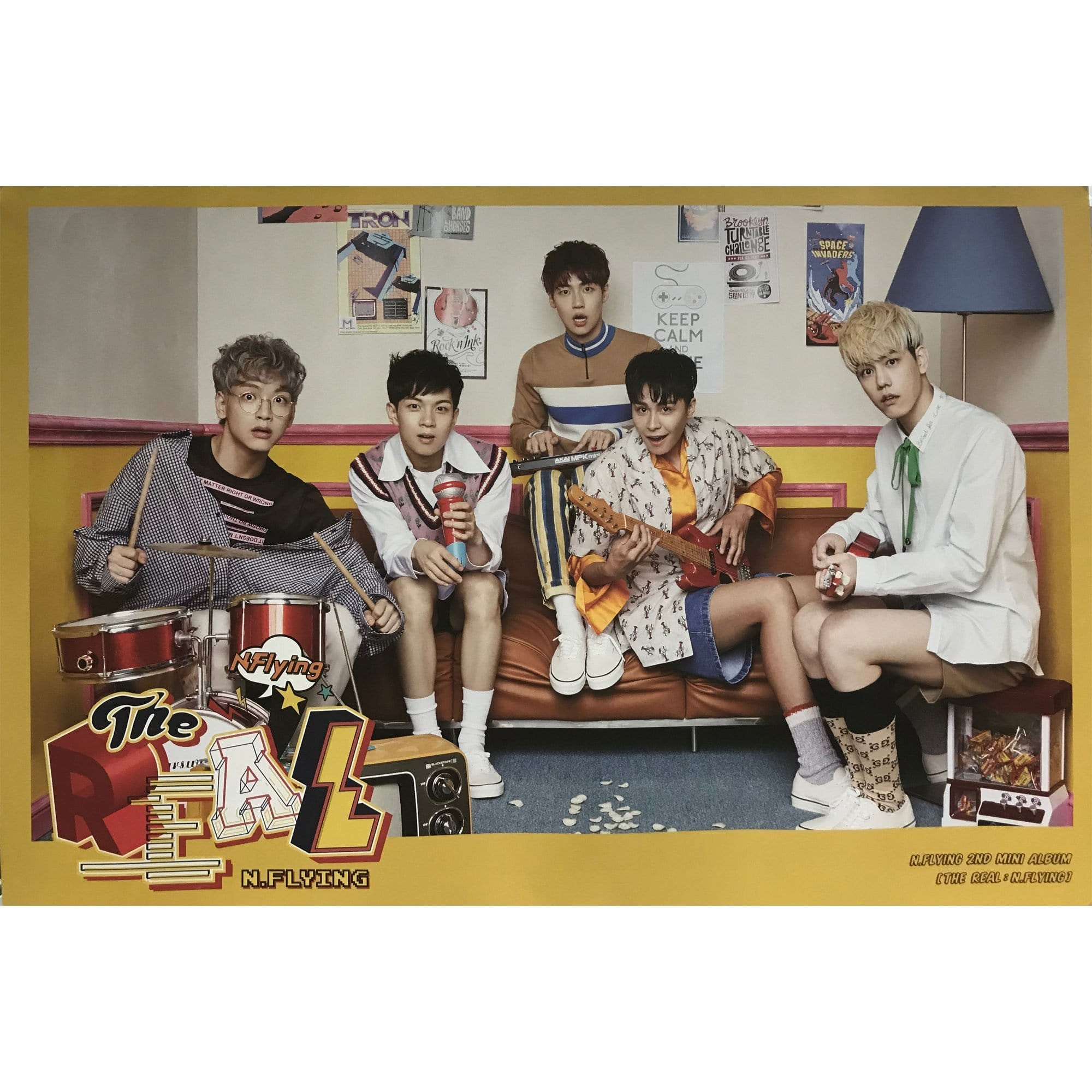 엔플라잉 | N-FLYING | 2nd mini - the real:n.flying | POSTER