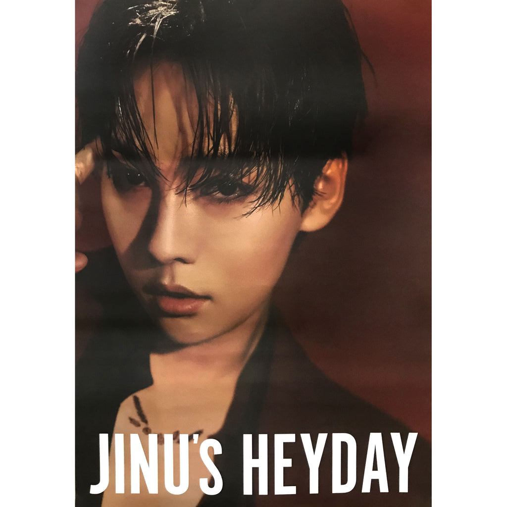 JINU 1ST SINGLE ALBUM | JINU'S HEYDAY | (DOUBLE SIDED) POSTER ONLY