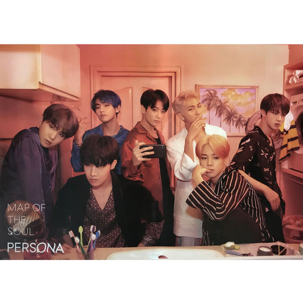 방탄소년단 | BTS [ MAP OF THE SOUL PERSONA ] | VERSION B | POSTER ONLY