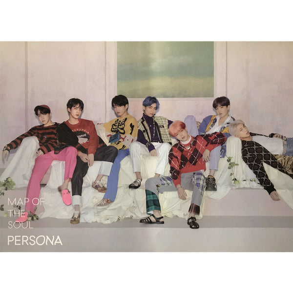 방탄소년단 | BTS [ MAP OF THE SOUL PERSONA ] | VERSION D | POSTER ONLY