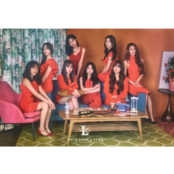 러블리즈 | LOVELYZ | 6TH MINI ALBUM [ONCE UPON A TIME] | (VER. A) POSTER ONLY