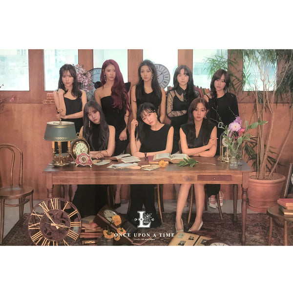 러블리즈 | LOVELYZ | 6TH MINI ALBUM [ONCE UPON A TIME] | (VER. B) POSTER ONLY