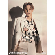 김성규 | KIM SUNGKYU | 1ST SINGLE ALBUM [WON'T FORGET YOU] | (VERSION B) POSTER ONLY