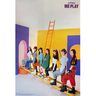 위클리 | WEEEKLY | 3RD MINI ALBUM [WE PLAY] | (UP VER.) POSTER ONLY