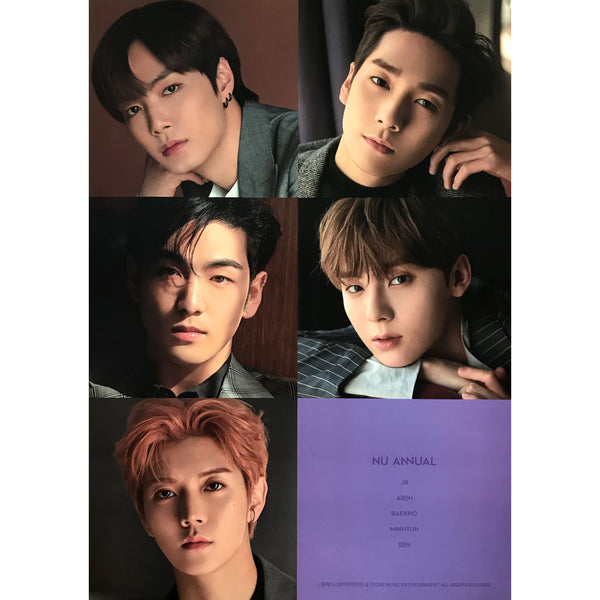 NU'EST | 뉴이스트 |  NU ANNUAL | (VERSION B) POSTER ONLY