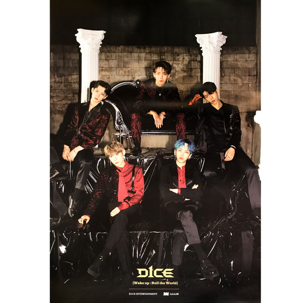 디원스 | D1CE |  1st mini album [WAKE UP : Roll the world] | POSTER ONLY