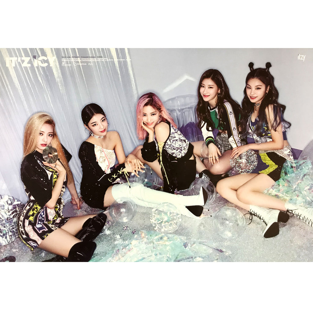 ITZY | IT'Z ICY | (group version) | POSTER ONLY