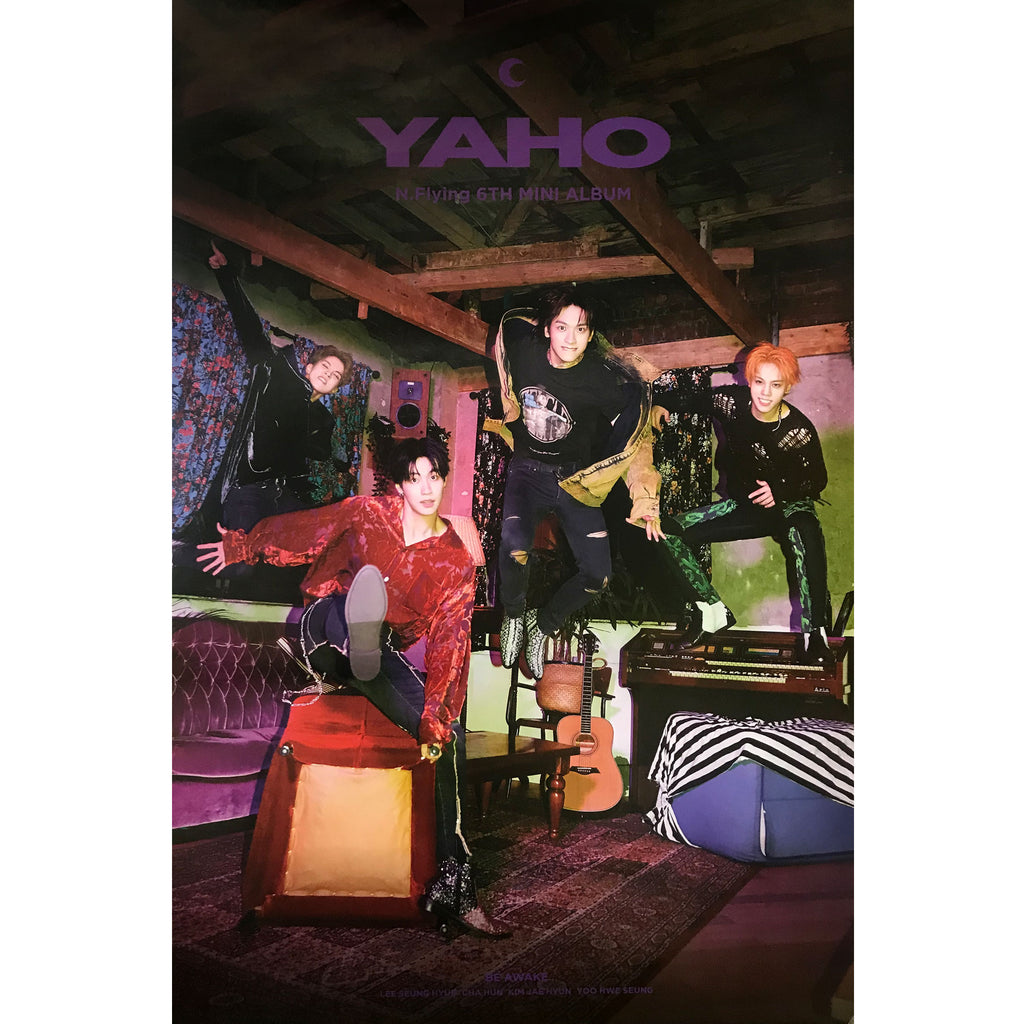 N-Flying | 6TH MINI ALBUM [YAHO] (VERSION B) POSTER ONLY