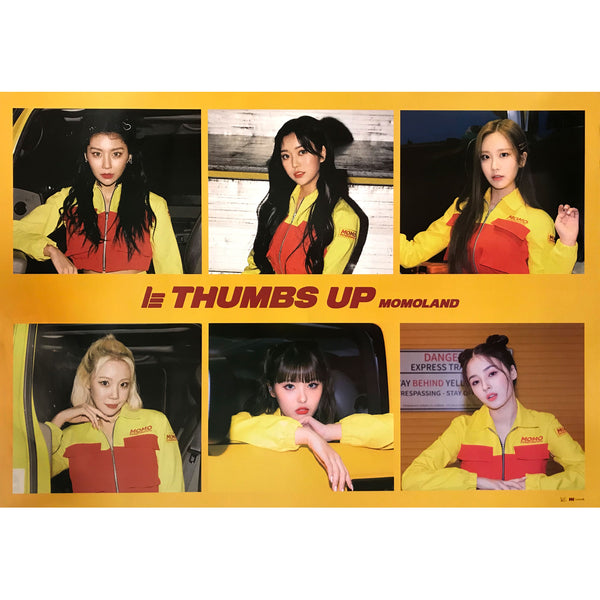 모모랜드 | MOMOLAND | 2ND SINGLE [THUMBS UP] (VER. A) | POSTER ONLY
