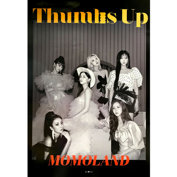 모모랜드 | MOMOLAND | 2ND SINGLE [THUMBS UP] (VER. B) | POSTER ONLY