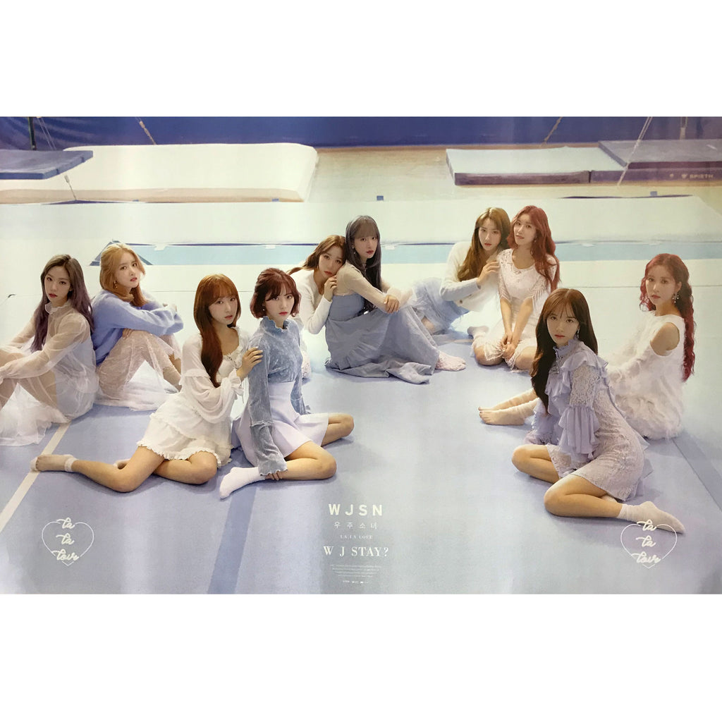 WJSN | WJ STAY? | (BLUE VERSION) POSTER ONLY