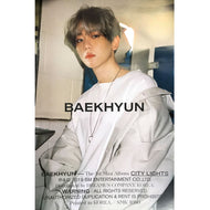 백현 | BAEKHYUN | CITY LIGHTS | 1st mini album (day version) | POSTER ONLY