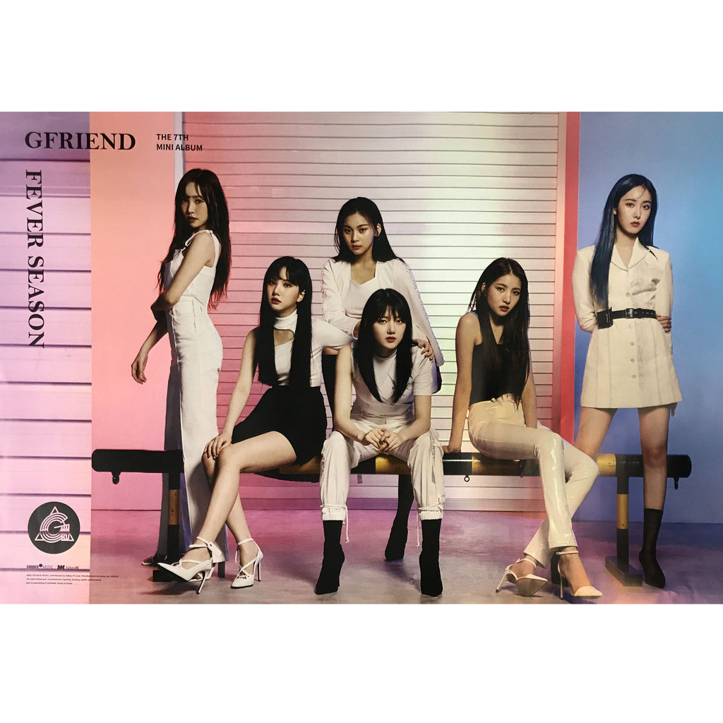 Gfriend | 여자친구 | 7th Mini Album | Fever season (夜(야) Ver.) | POSTER ONLY