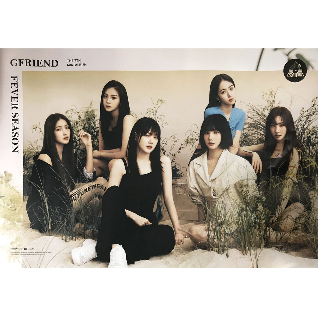 Gfriend | 여자친구 | 7th Mini Album | Fever season (熱(열) Ver.) | POSTER ONLY