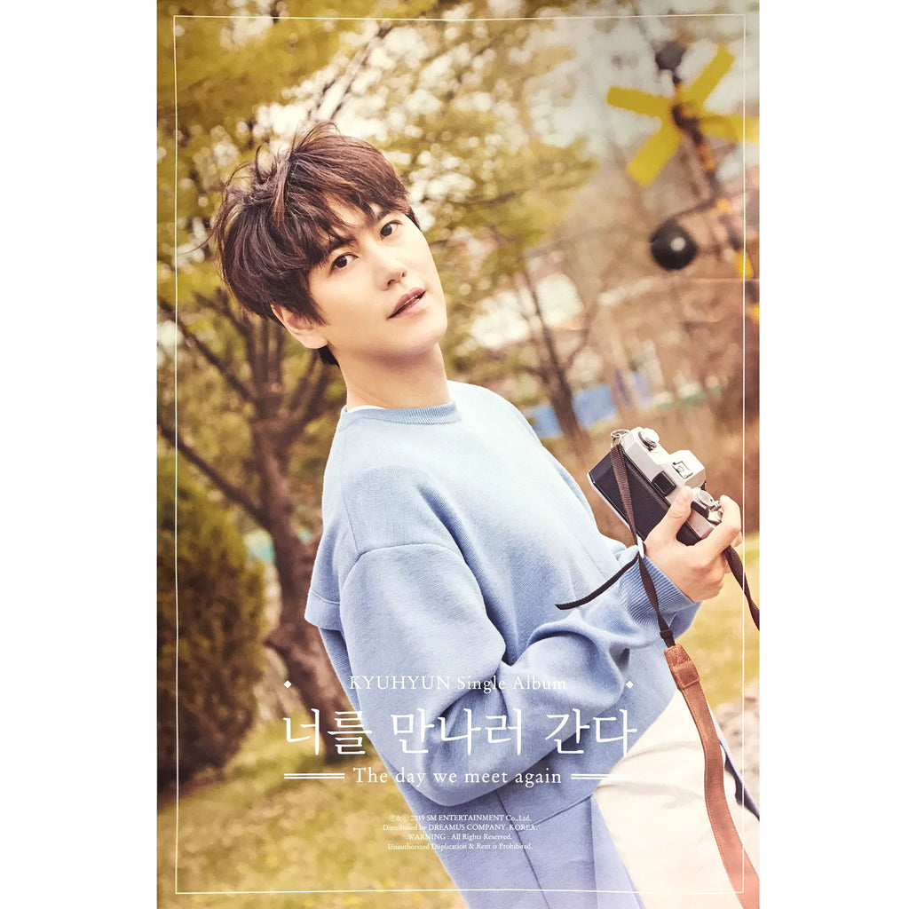 KYUHYUN | 규현 | The day we meet again | single album | POSTER ONLY