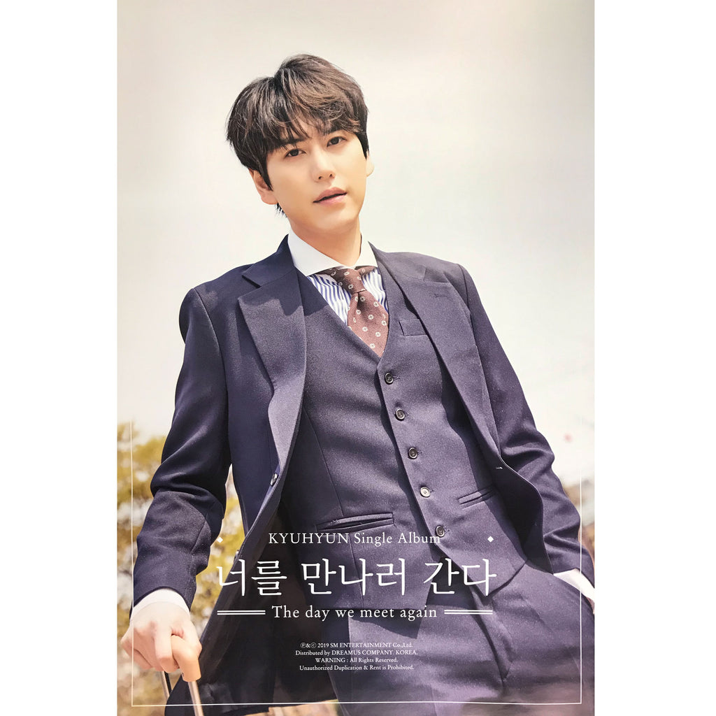 KYUHYUN | 규현 | The day we meet again | single album | (kihno ver.) POSTER ONLY