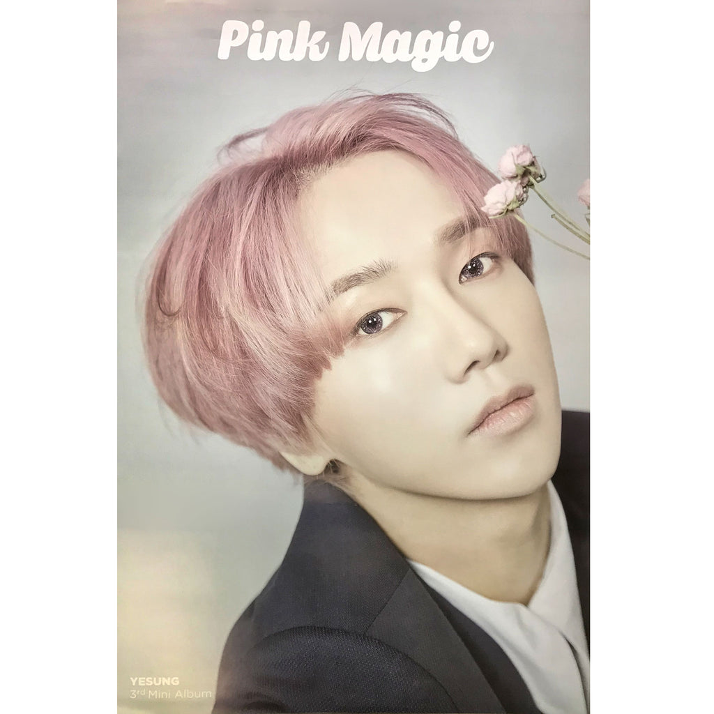 YESUNG | 예성 | PINK MAGIC | 3rd mini album | (kihno ver.) POSTER ONLY