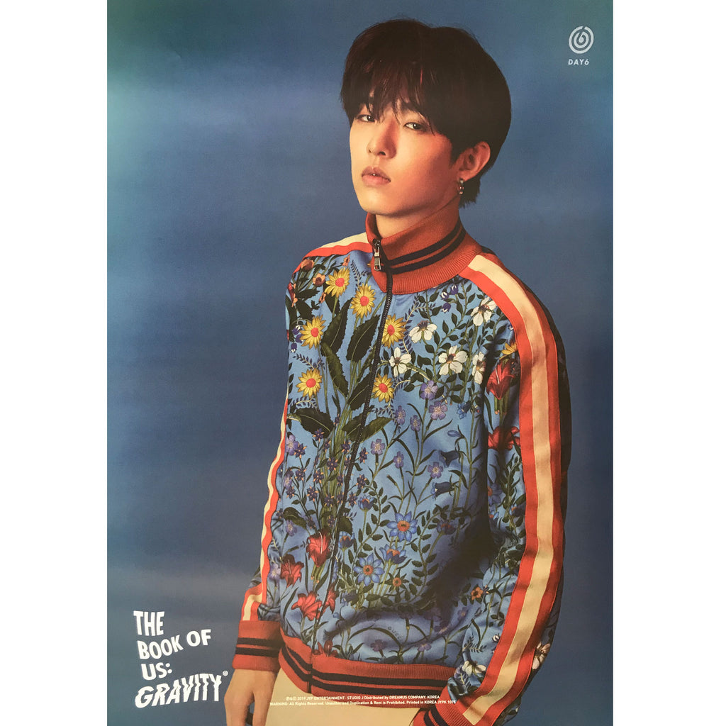 DAY6 | 5th mini album [The Book of Us : GRAVITY] | (JAE) POSTER ONLY