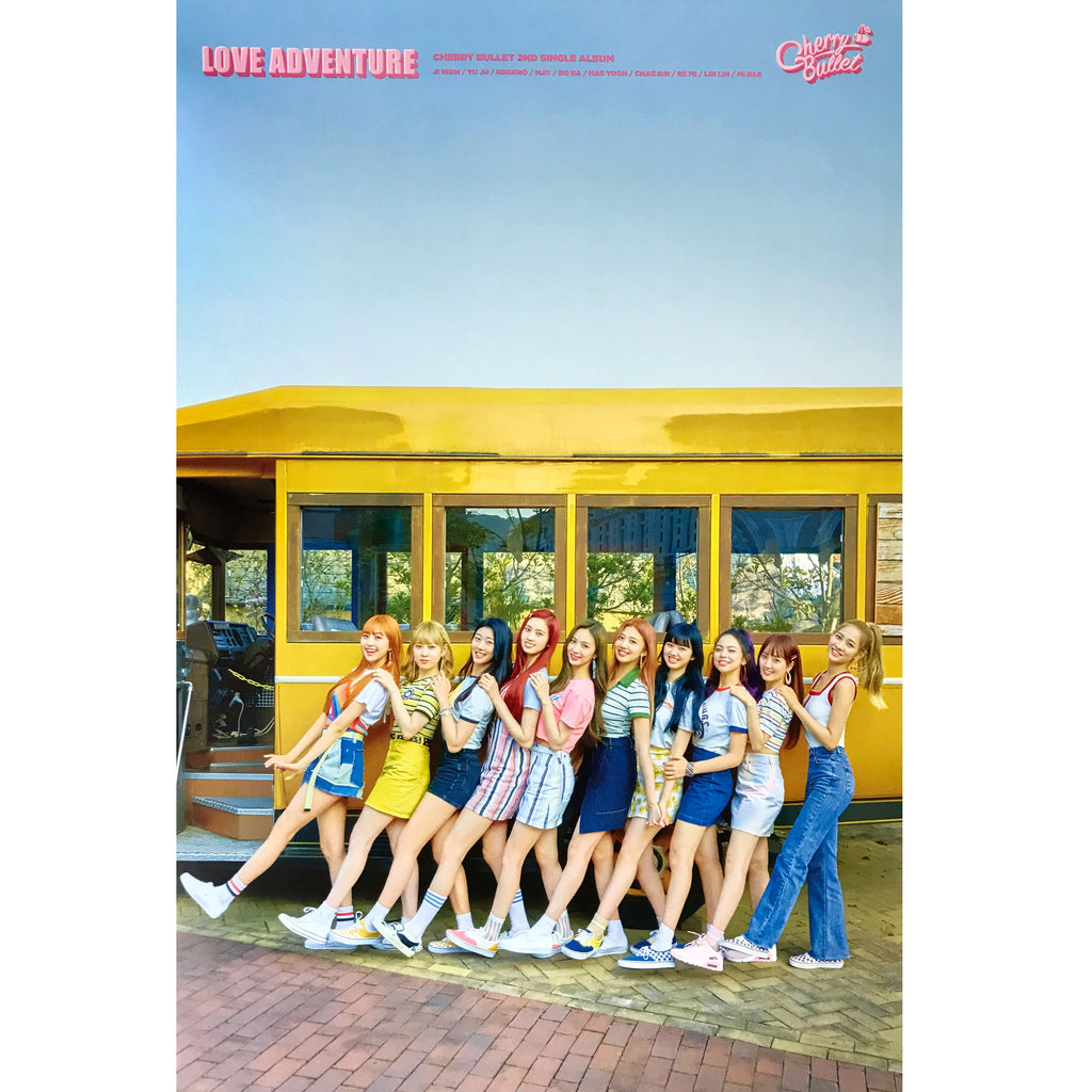 체리블렛 | Cherry Bullet | LOVE ADVENTURE  | 2nd Single Album | (version 1) POSTER ONLY