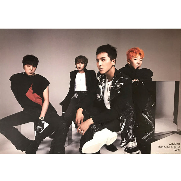 위너 | WINNER | [WE] | 2nd Mini Album (2 sided) | POSTER ONLY