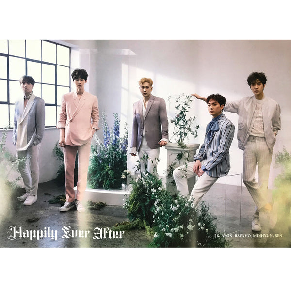 NU'EST | 뉴이스트ㅣHappily Ever After l (group version) POSTER ONLY