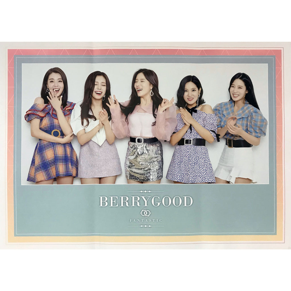 베리굿 | BERRYGOOD | FANTASTIC | 3rd mini album | POSTER ONLY