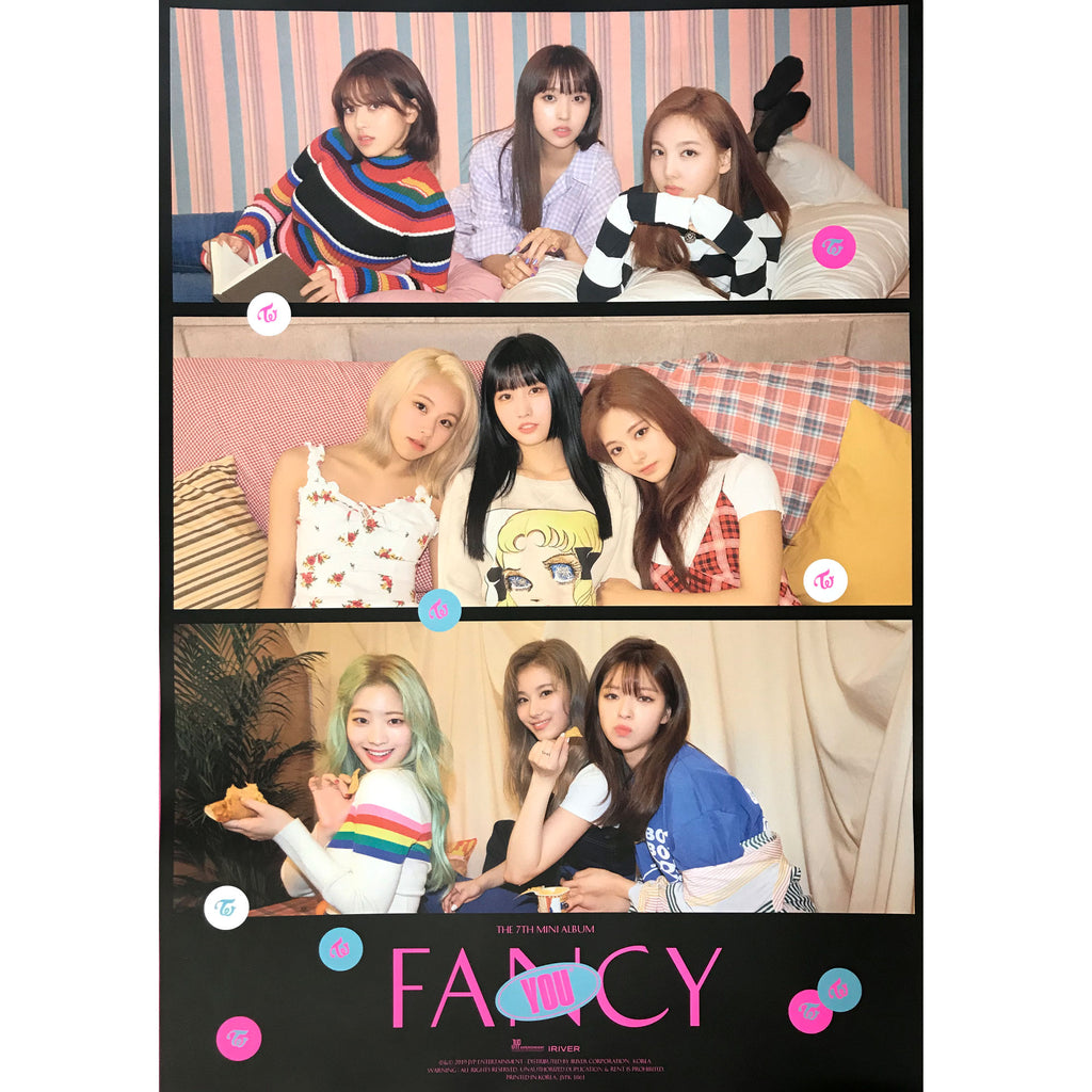 Twice | 트와이스 | FANCY YOU | 7th mini album | (version 2) POSTER ONLY