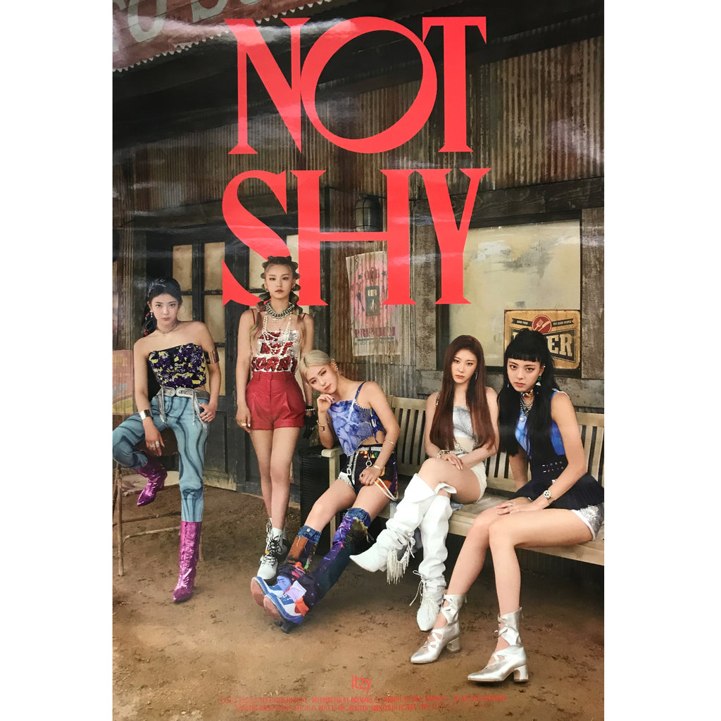 있지 | ITZY | NOT SHY | (VERSION C) POSTER ONLY