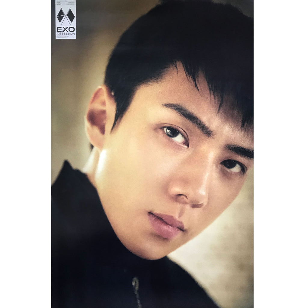 EXO | 6TH ALBUM [OBSESSION] | EXO VERSION | (SEHUN) POSTER ONLY
