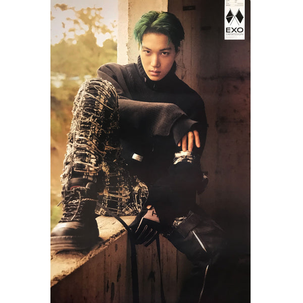 EXO | 6TH ALBUM [OBSESSION] | EXO VERSION | (KAI) POSTER ONLY