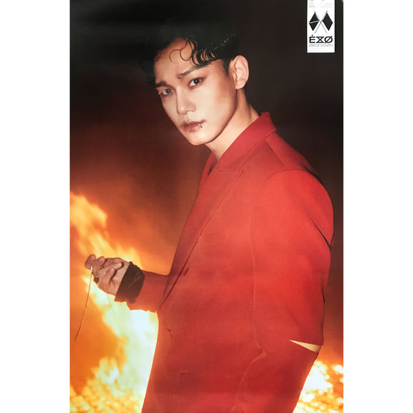 EXO | 6TH ALBUM [OBSESSION] | X-EXO VERSION | (CHEN) POSTER ONLY