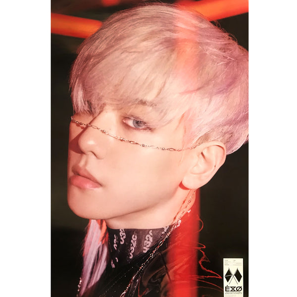 EXO | 6TH ALBUM [OBSESSION] | X-EXO VERSION | (BAEKHYUN) POSTER ONLY