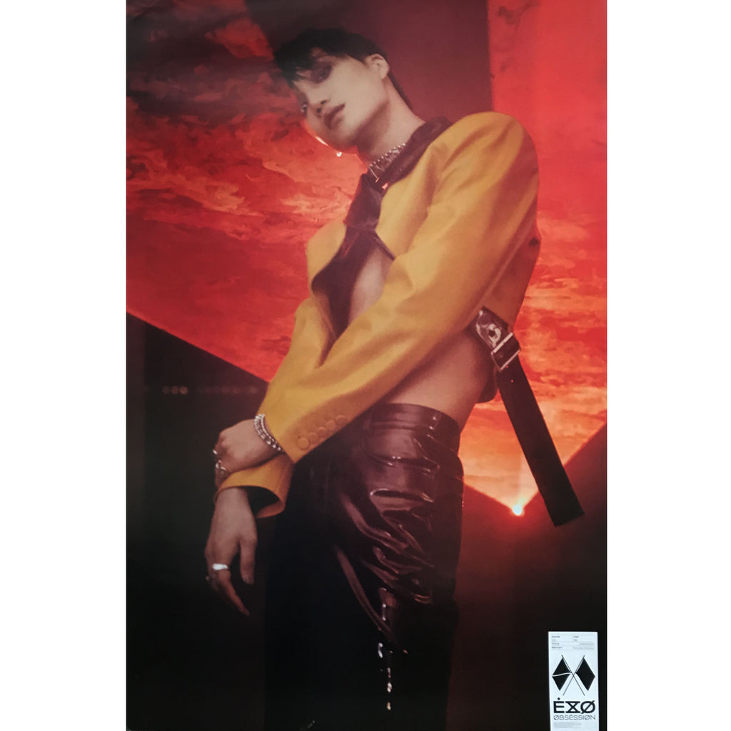 EXO | 6TH ALBUM [OBSESSION] | X-EXO VERSION | (KAI) POSTER ONLY