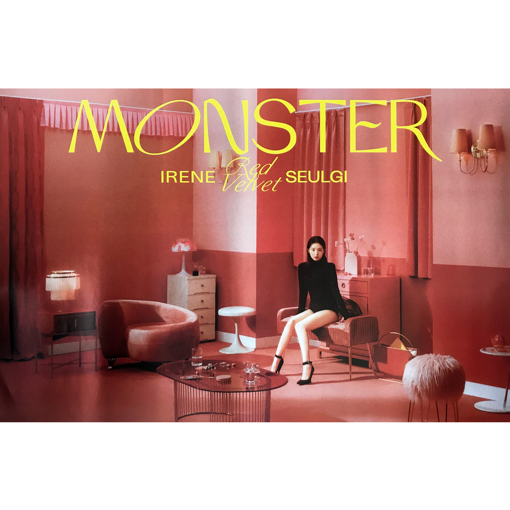 아이린 & 슬기 | RED VELVET(IRENE & SEULGI) | 1ST MINI [MONSTER] | (MIDDLE NOTE - IRENE) POSTER ONLY