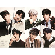 BTS | 방탄소년단 | 4TH ALBUM [MAP OF THE SOUL 7] | (VERSION D) POSTER ONLY