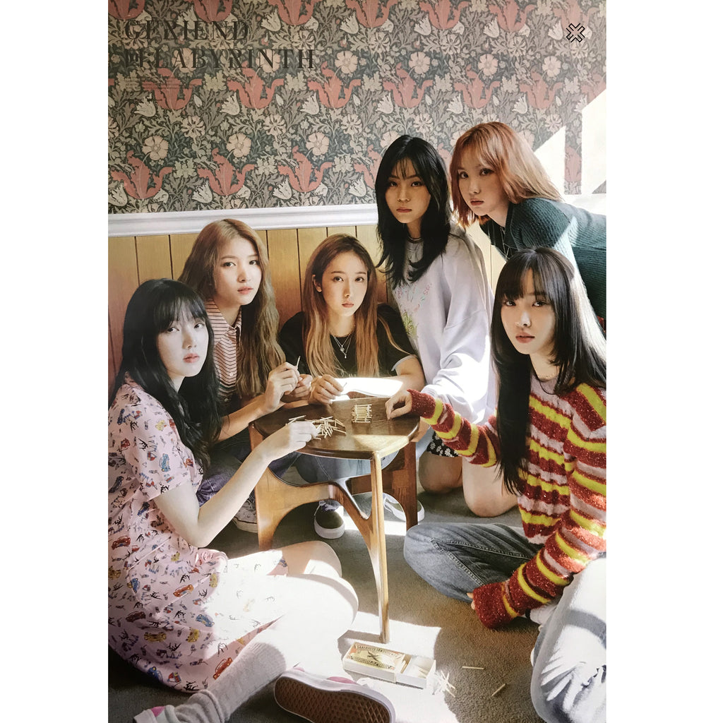 여자친구 | GFRIEND MINI ALBUM [回 : LABYRINTH] | (GROUP A) POSTER ONLY