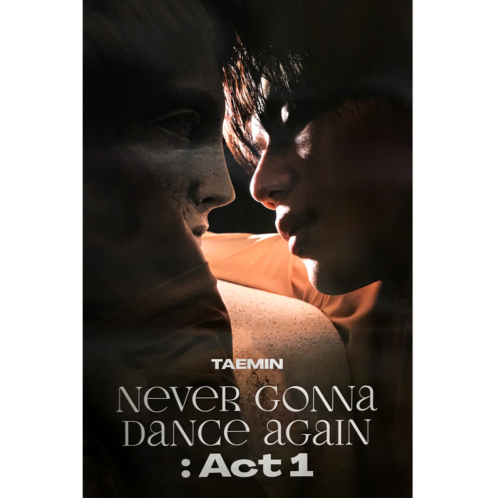 태민 | TAEMIN | 3RD ALBUM [NEVER GONNA DANCE AGAIN : ACT 1] (INNOCENT VER.)  POSTER ONLY