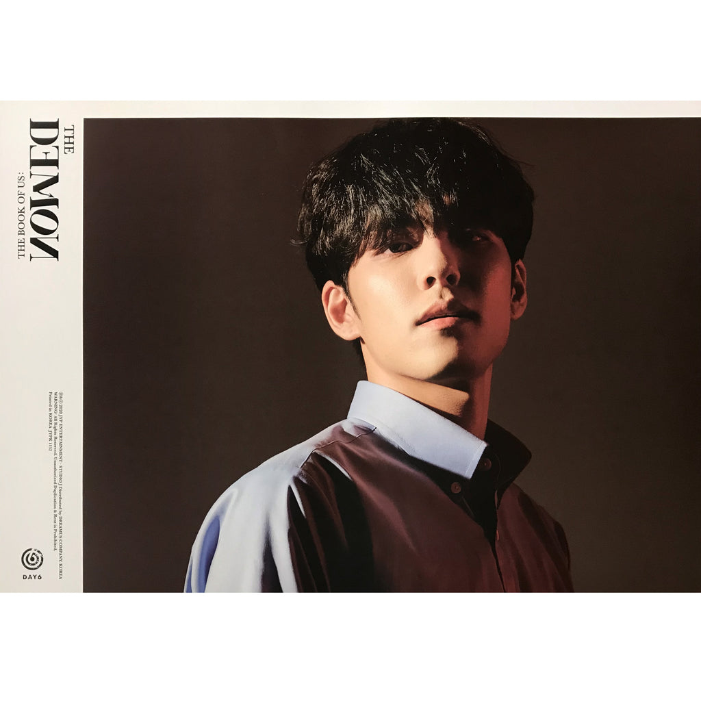 DAY6 | 데이식스 | 6TH MINI ALBUM [THE DEMON] | (WONPIL) POSTER ONLY