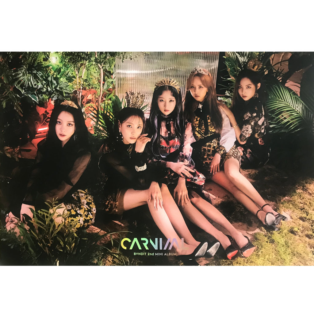 BVNDIT | 밴디트 | 2ND MINI ALBUM [CARNIVAL] POSTER ONLY