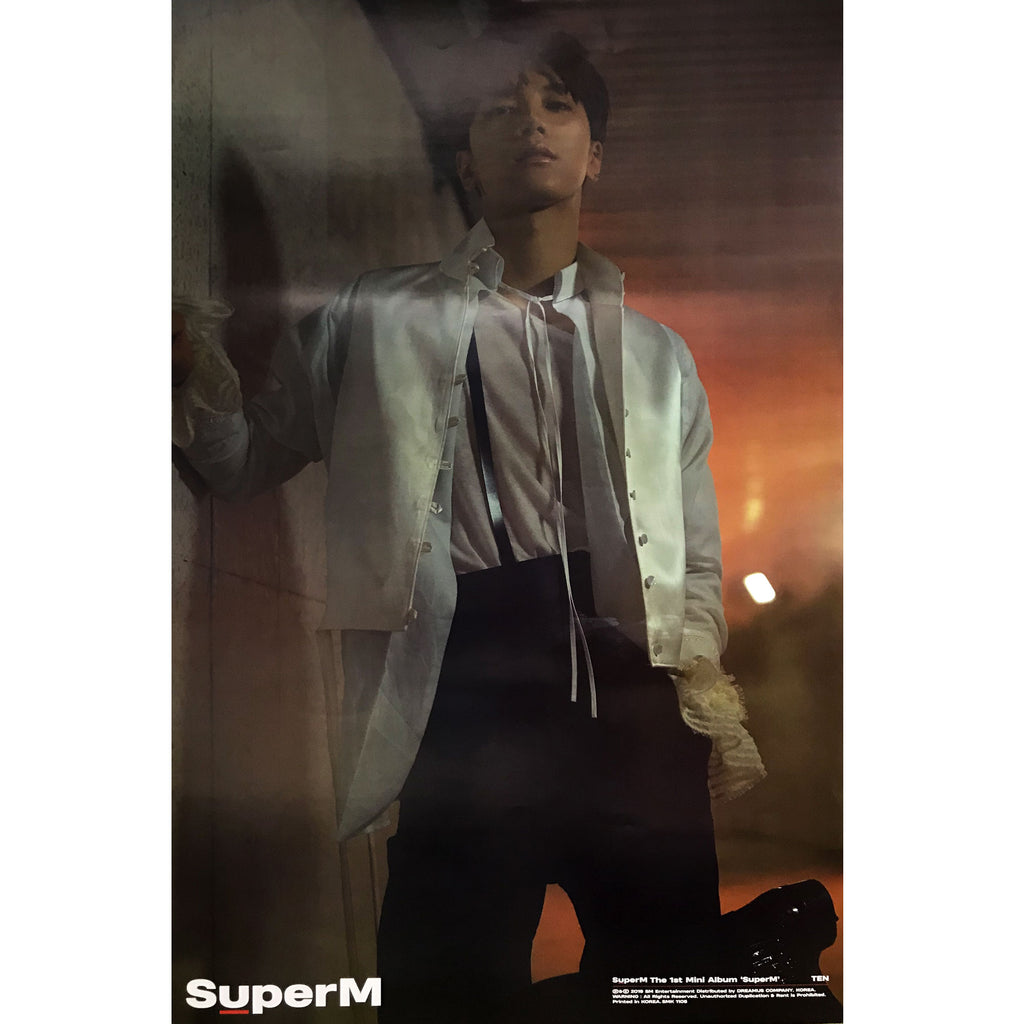 SUPERM | 1ST MINI ALBUM [SUPERM] | (TEN VER.) POSTER ONLY