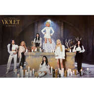 퍼플키스 | PURPLE KISS | 1ST MINI ALBUM [INTO VIOLET] | (VERSION B) POSTER ONLY