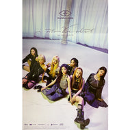 퍼플키스 | PURPLE KISS | 1ST MINI ALBUM [INTO VIOLET] | (VERSION C) POSTER ONLY