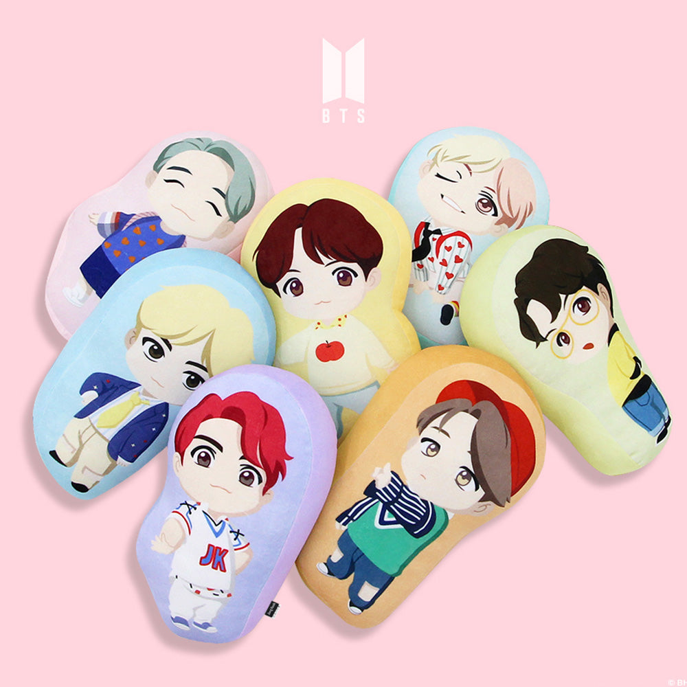 BTS CHARACTER SOFT CUSHION | OFFICIAL MD
